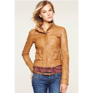 Lucky brand downtown gypsy leather jacket
